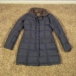 Duvetica Matt Navy Blue Down Jacket